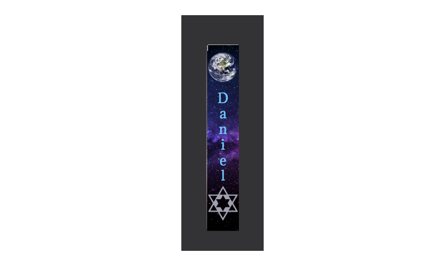 Custom Mezuzah - Genius Gems