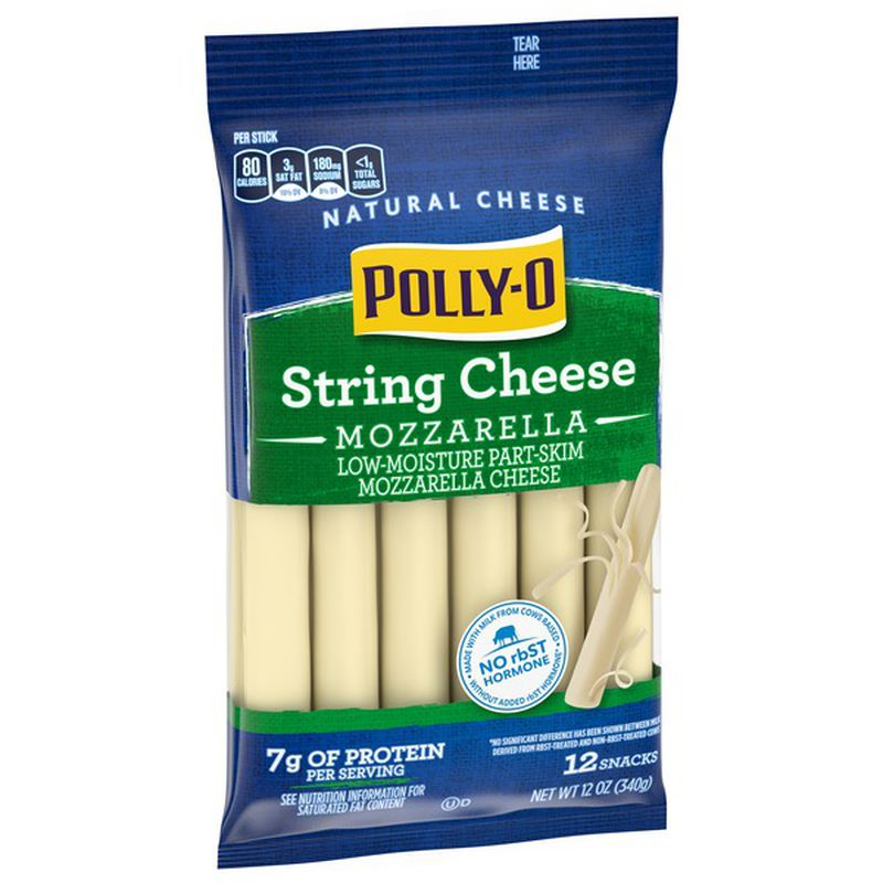 Polly-O String Cheese - Genius Gems