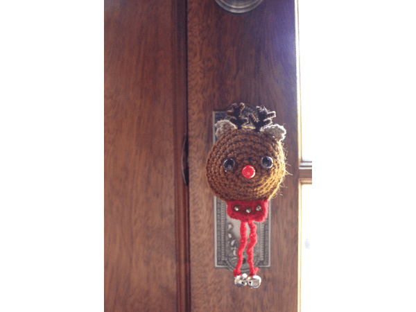 Handmade Recycled Cotton Doorknob Covers
