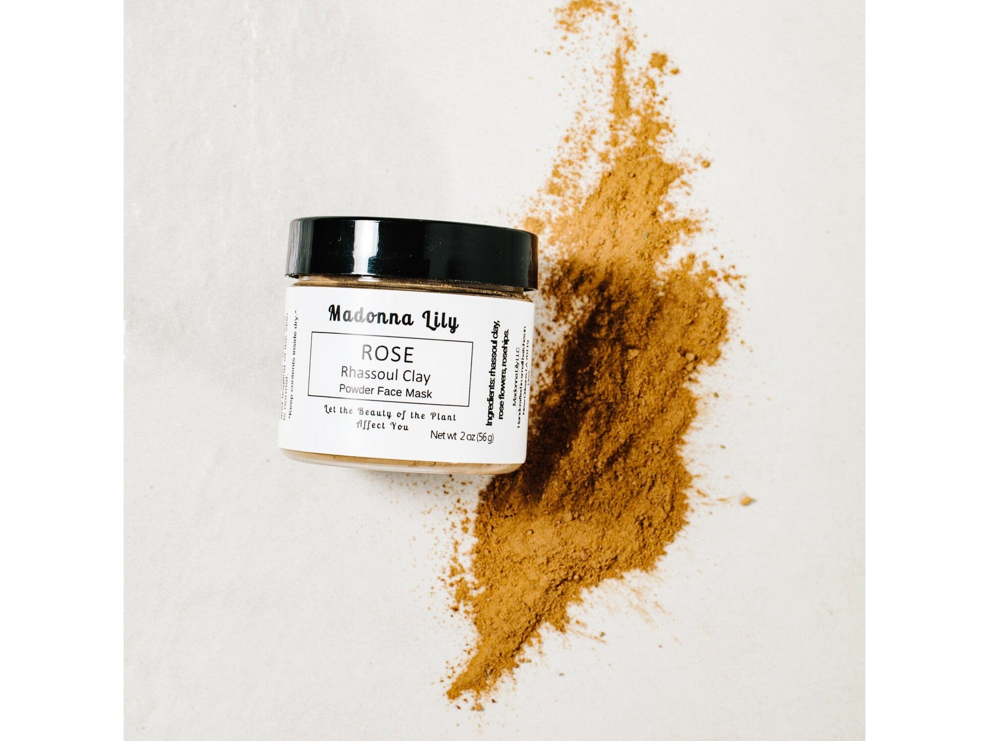 Rose Rhassoul Clay Mask