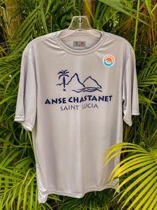 Anse Chastanet Men's Moisture Wicking-Sun Protection T-Shirt