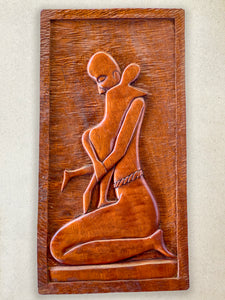Wood Carving - Motherly Love