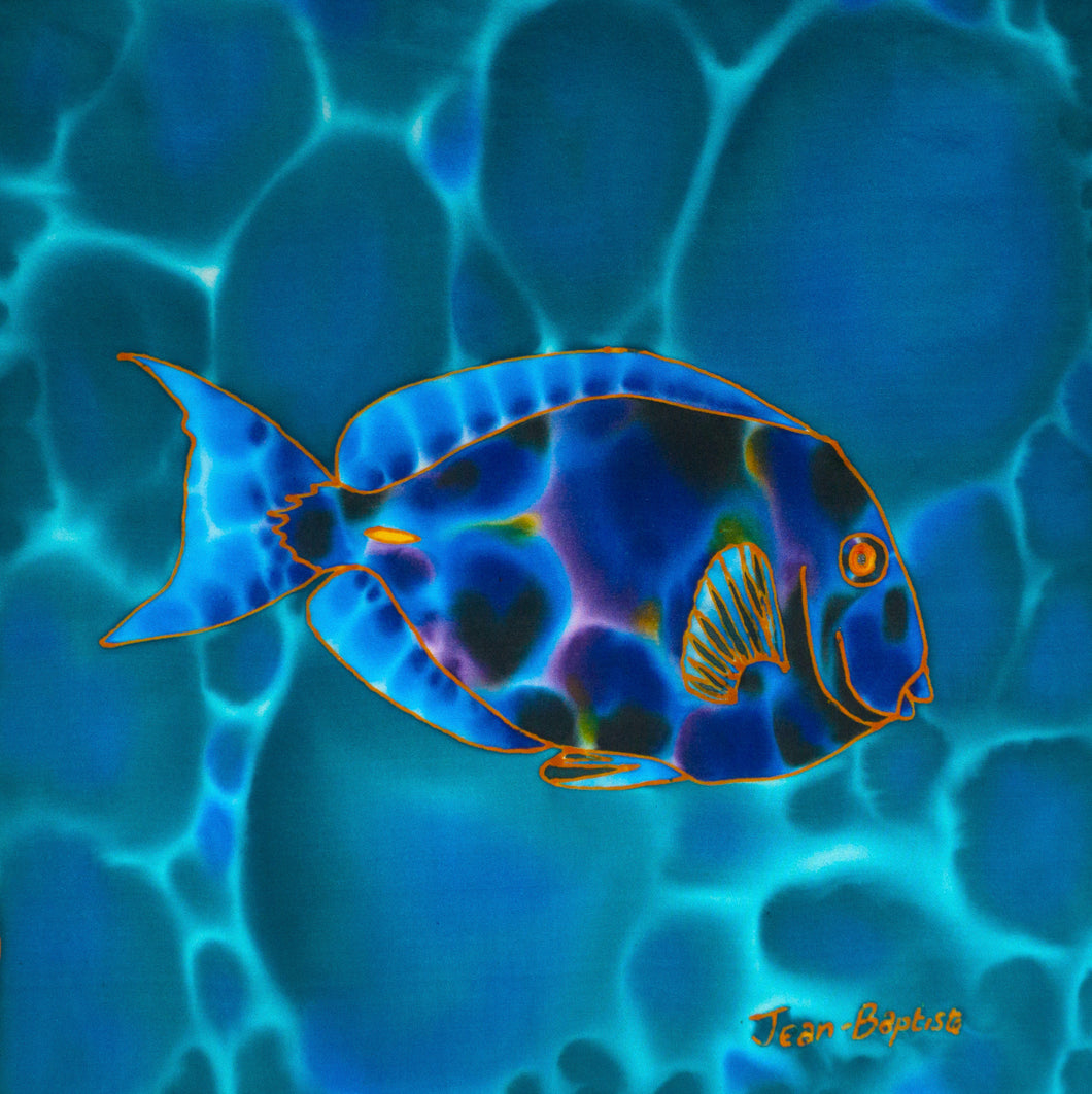Painting - Blue Tang - 12