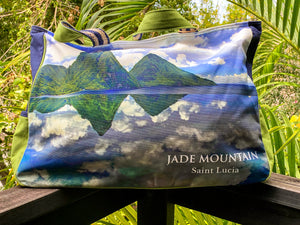 Jade Mountain Tote Bag