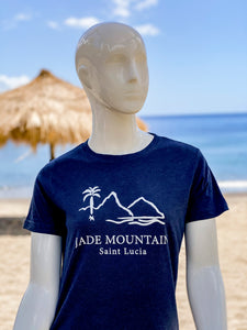 Jade Mountain Women's Crew Neck T-Shirt