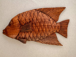 Fish Wood Carvings