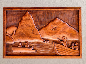 Piton Wood Carving