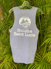 Load image into Gallery viewer, Scuba St Lucia Men's Tank Top