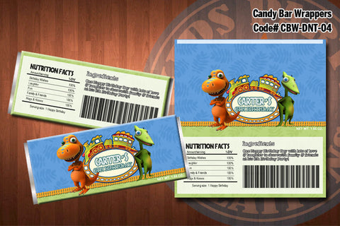 DINOSAUR TRAIN Candy Bar Wrapper #4
