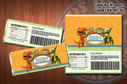 DINOSAUR TRAIN Candy Bar Wrapper #5