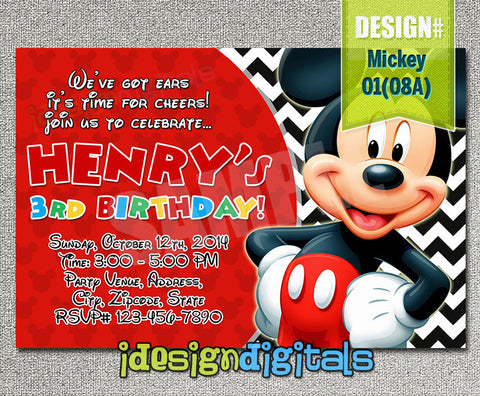 Mickey mouse kreationskaboodle mickey birthday invitation mickey party printables for mickey mouse inspired birthday theme filmwisefo