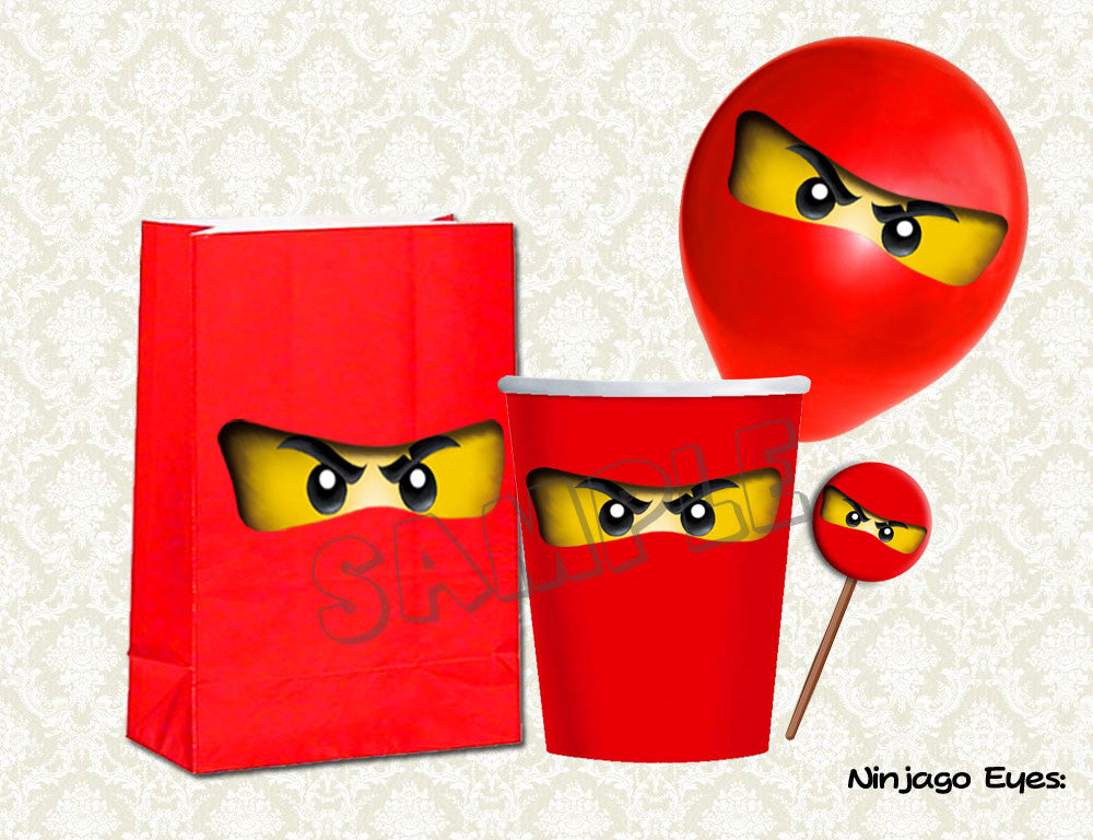 This is a picture of Printable Ninjago Eyes in high resolution