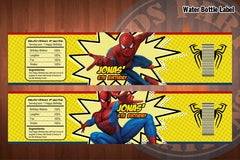 SPIDERMAN Birthday Party Printable Decor Pack - VALUE SET