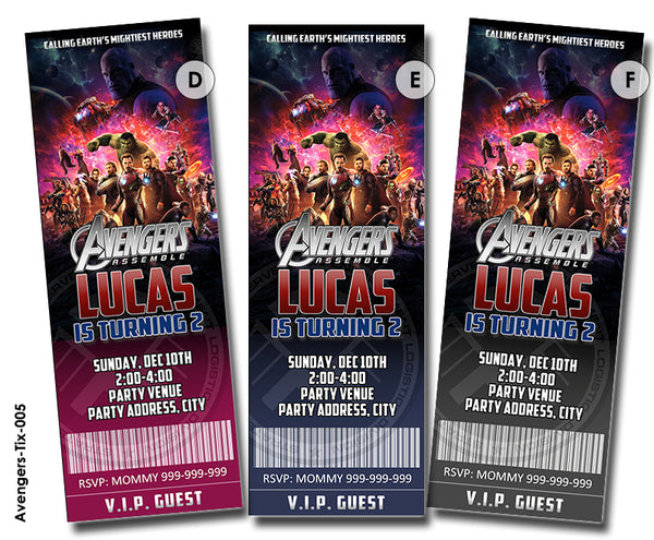 AMAZING Avengers birthday, Avengers invitation, Avengers party printable