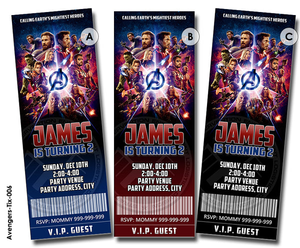 Superhero Avengers birthday, Avengers invitation, Avengers party printable