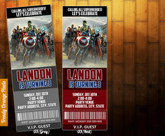 Avengers birthday, Avengers invitation, Avengers printables