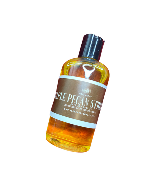 Maple Pecan Streusel Bath and Body Oil