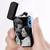 Black | Custom Photo Engraved Lighter | Electronic Cigarette Lighter