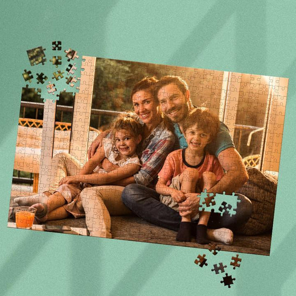 Custom Photo Jigsaw Puzzle Unique Gifts Happy Father Day-35-1000 pieces