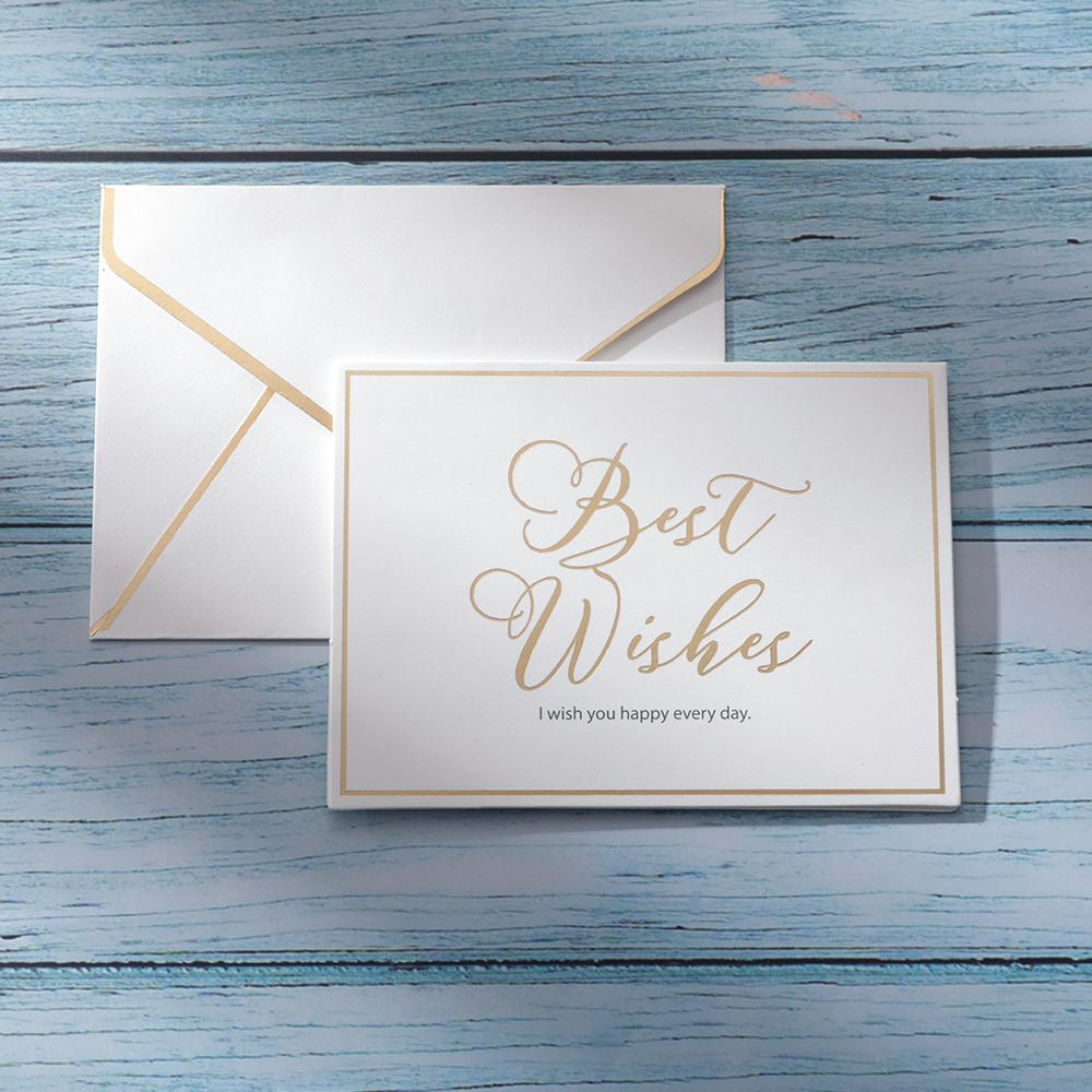 Custom Text Wishes Greeting Card | Personalized Message Card