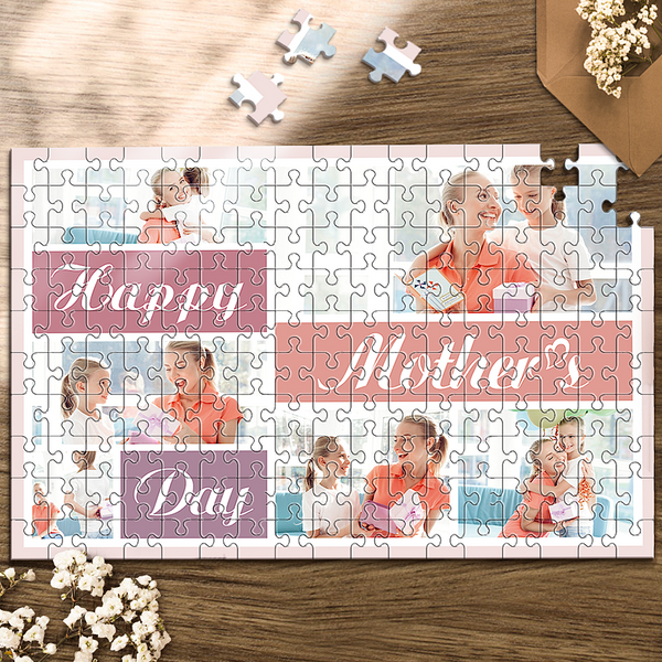 Custom Photo Jigsaw Puzzle Best Indoor Gifts 35-1000 pieces Mother's Day Party Games