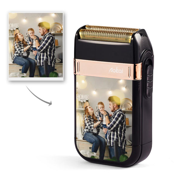 Custom Photo Electric Shaver Personalised Razor