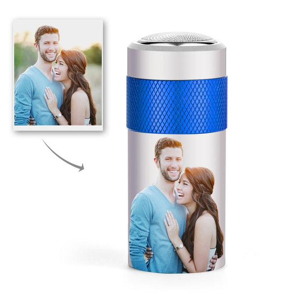 Custom Photo Electric Round Shaver Personalised Razor