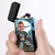 Black | Custom Engraved Photo Lighter |  Color Screen | Batman