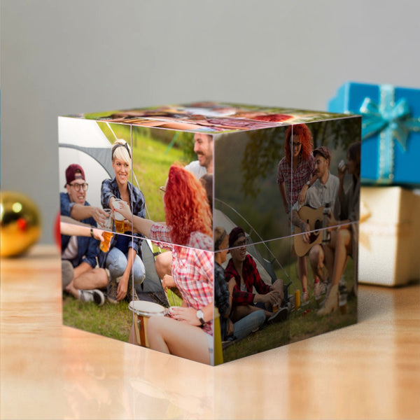 Custom DIY Magic Folding Photo Rubik's Cube | Father's Day Gifts