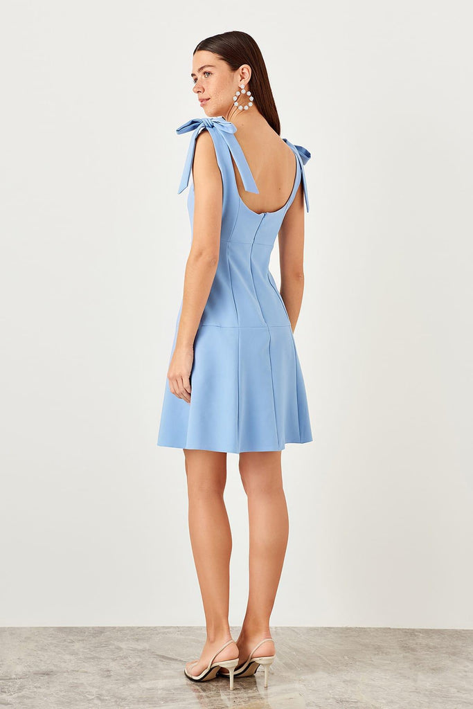 Homesick Tie Shoulder Dress