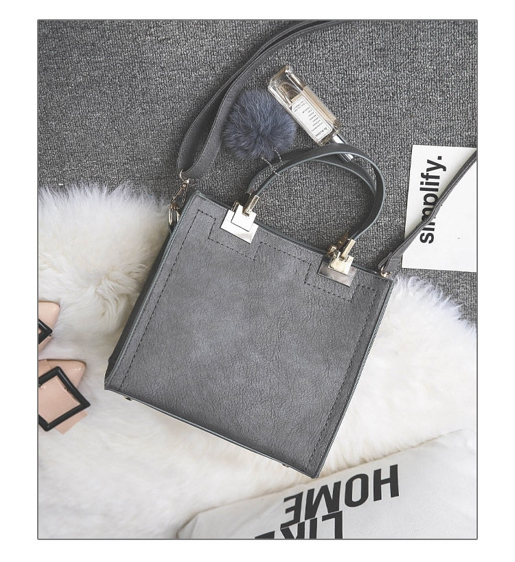Leather Women crossbody Handbag