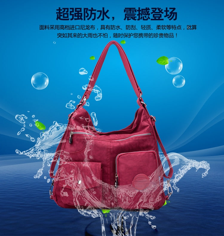 Waterproof Women Bag Double Shoulder Bag Designer Handbags