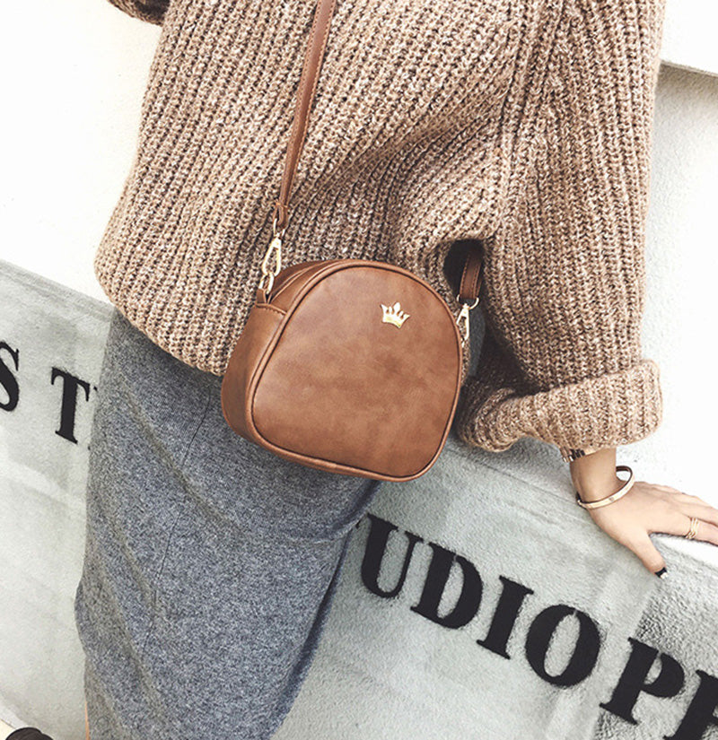 Leather Shoulder Bag Lady Crossbody Women Handbag
