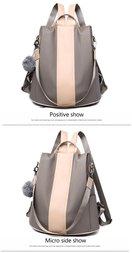 Waterproof Casual Women Shoulder Bags Backpack