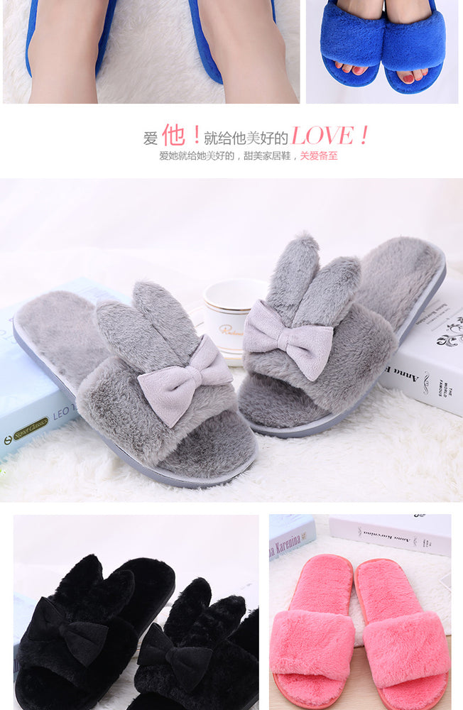 Korean Hair Home Slippers