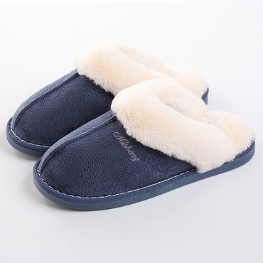 Fur Slides Sewing Slippers