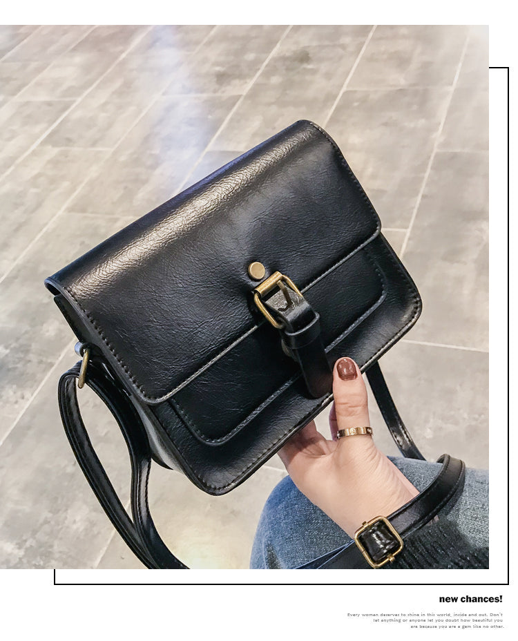 Leather Casual Shoulder Bags Lady Crossbody