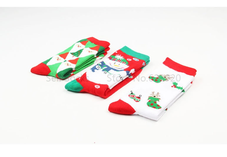 Christmas cotton socks