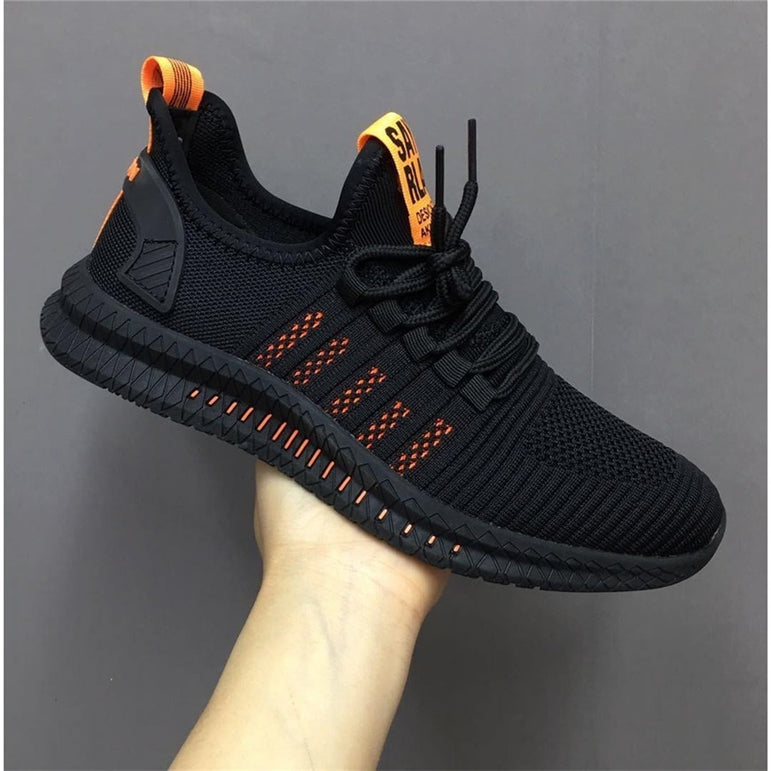 Casual Mesh Lace up Comfortable Breathable Sneakers