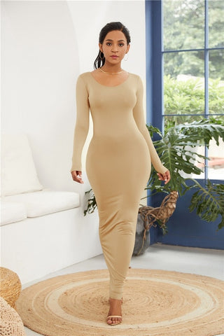 Elegant Sleeveless Slim Dress
