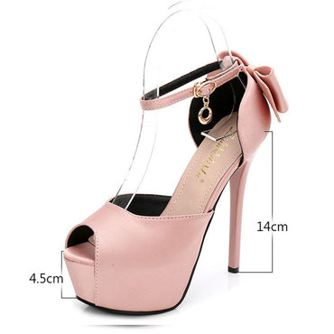 Wedding Shoes Bride Women Stiletto High Heels