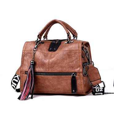 Real Leather Women Handbag