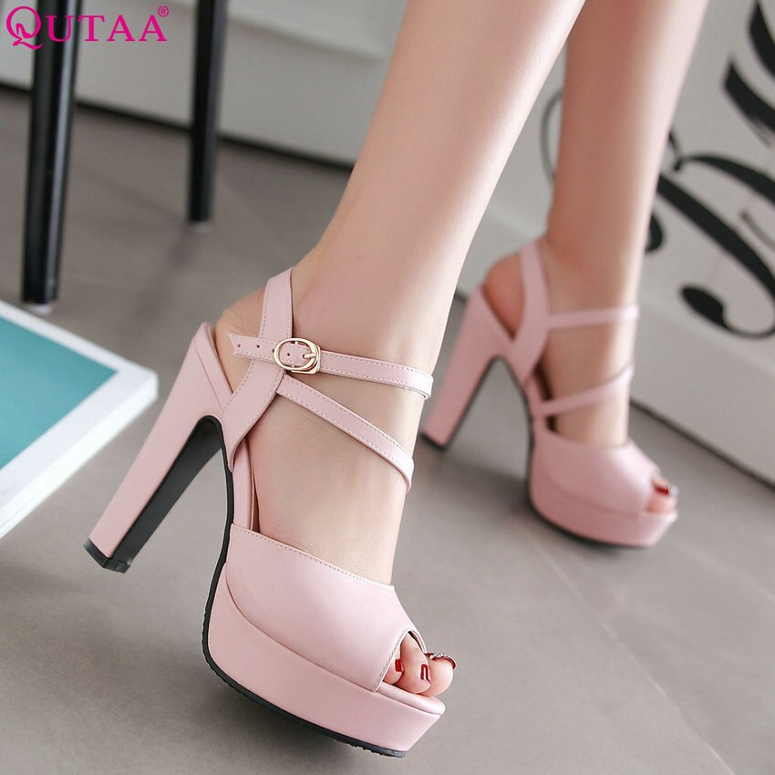 Square Wedding Pumps High Heel