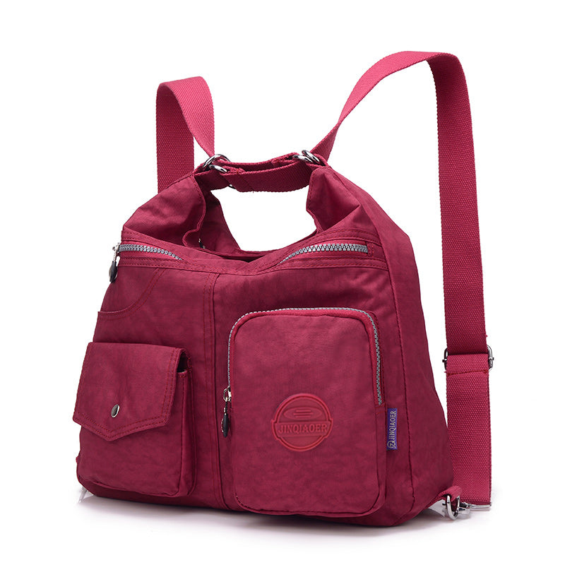 Nylon Women Bags Backpack