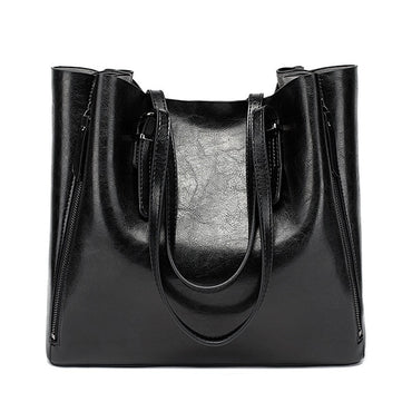 Leather Shoulder Bag Casual Large Handbags