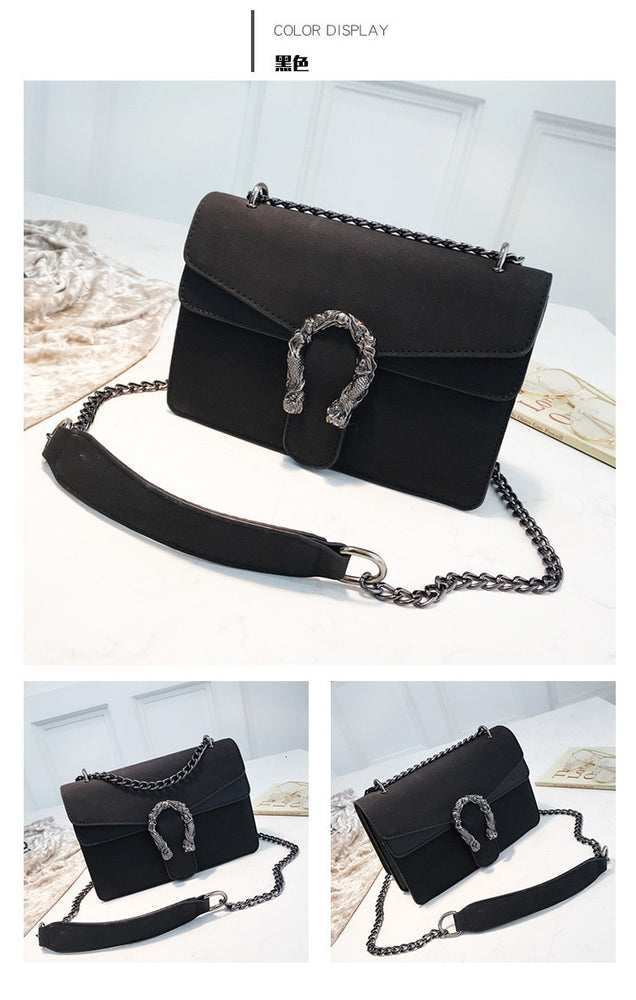Leather Female Crossbody Handbag