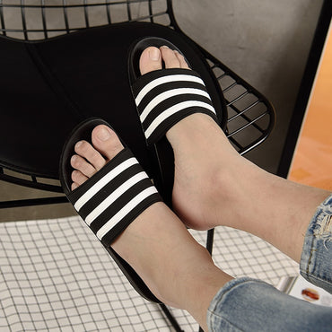 Casual Stripes Slippers
