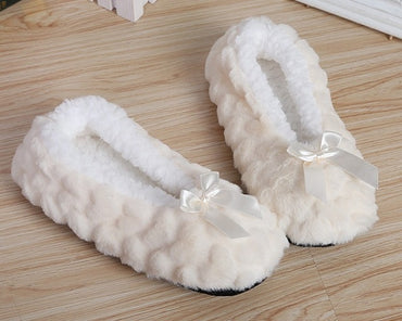 Warm Soft Plush Women Slippers