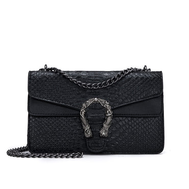 Leather Alligator Snake Women Handbag