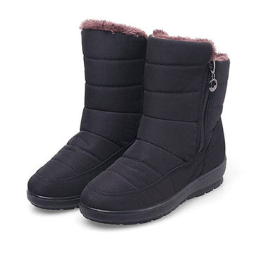 Cotton Velvet Waterproof Winter Boots